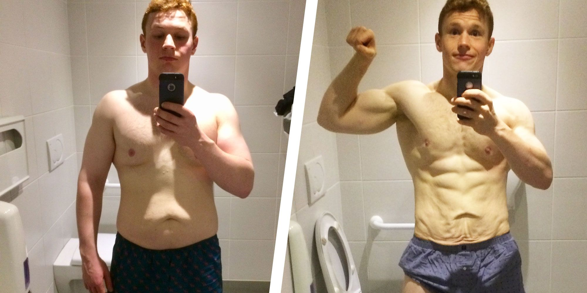 This Guy Lost 35 Pounds and Got Ripped Thanks to a Simplified Diet