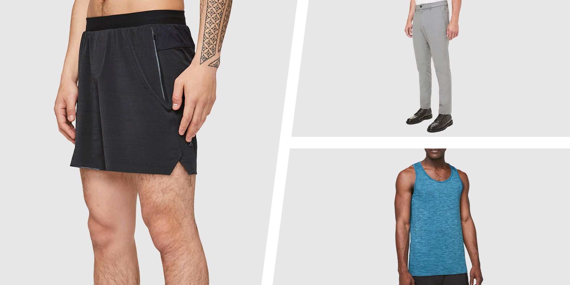 The 12 Best Men's Deals From Lululemon's 'We Made Too Much' Sale