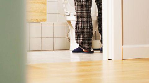 Footwear, Floor, Leg, Shoe, Pattern, Flooring, Tile, Room, Human leg, Textile,