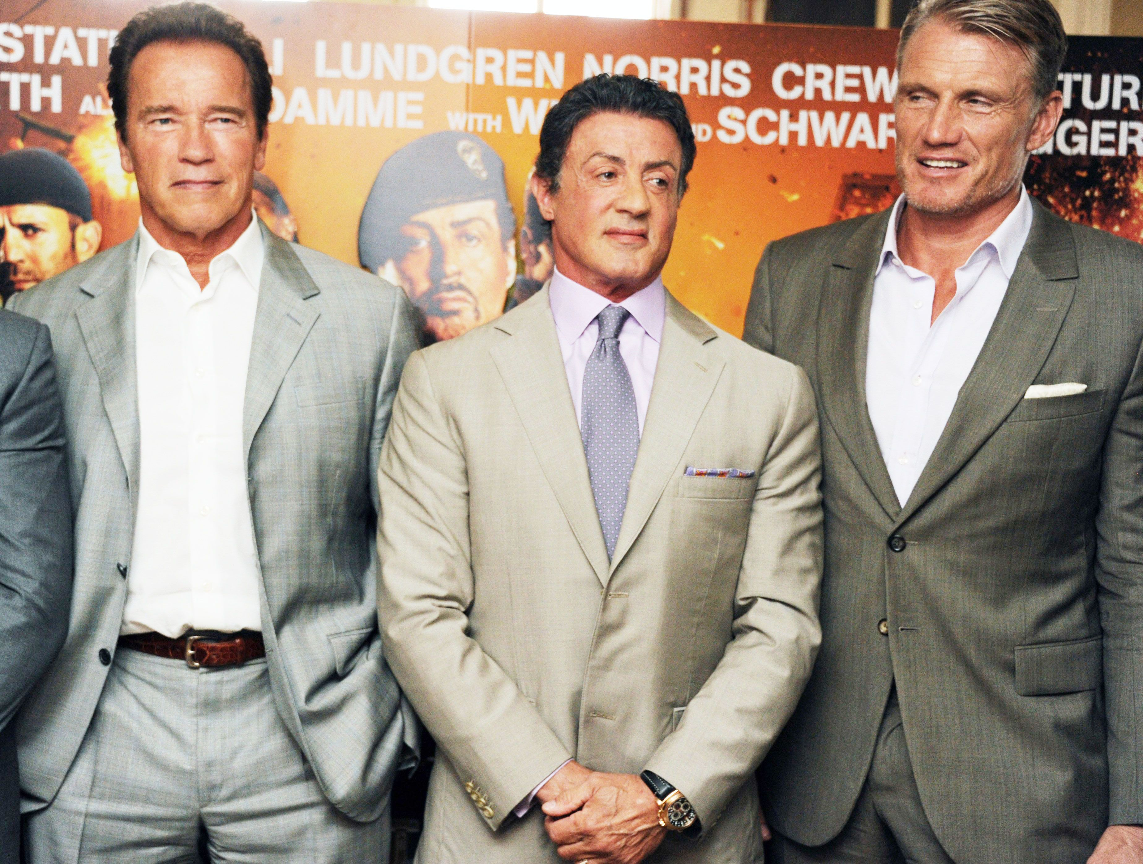 Stallone, Schwarzenegger and Lundgren Are Our New Squad Goals