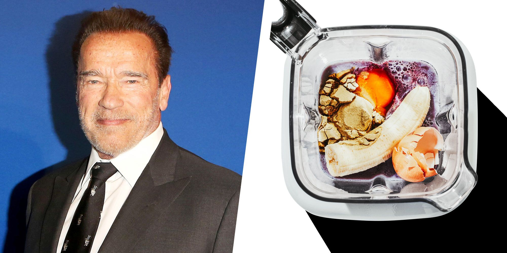 Here's What Arnold Schwarzenegger Puts Into His Workout Shake