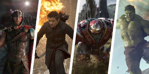 How Much Weight Could the Avengers Actually Lift? We Figured It Out