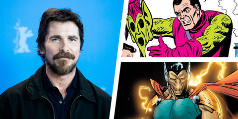 3 Characters Christian Bale Could Play In Thor Love And