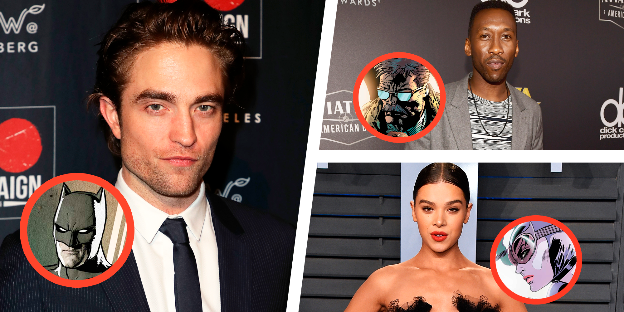 Here's a Flawless Dream Cast for 'The Batman' With Robert Pattinson