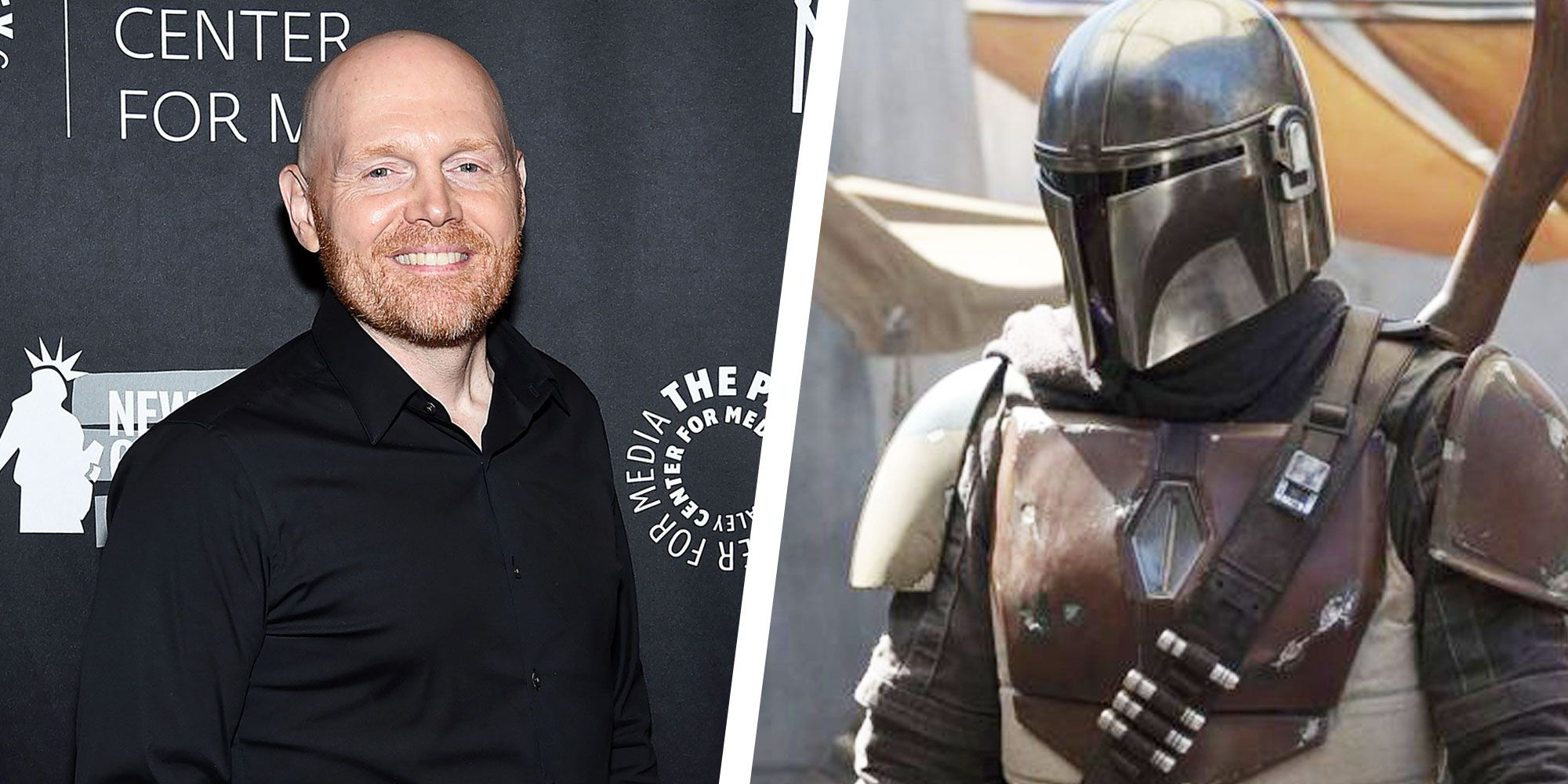 How Star Wars Hater Bill Burr Got Cast In The Mandalorian