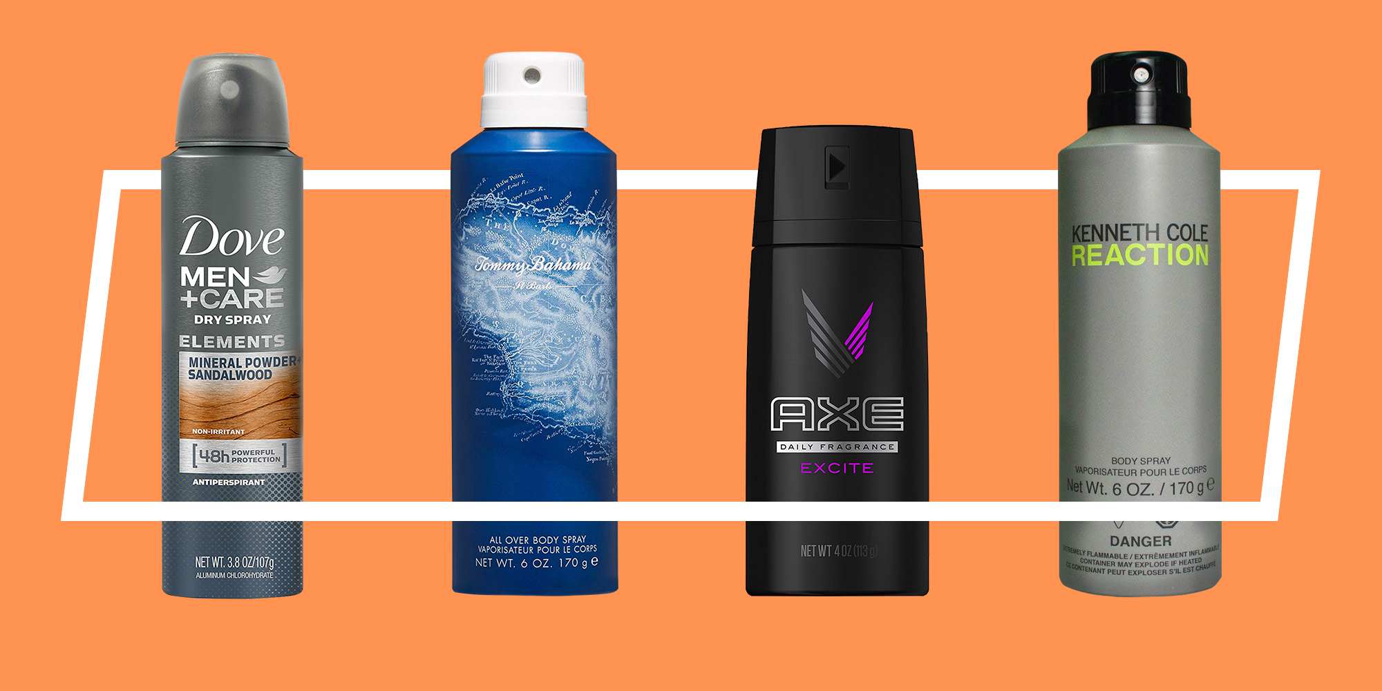 The 6 Best Body Sprays For Men