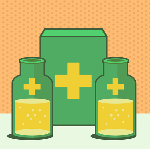 Green, Product, Yellow, Cylinder, Clip art, Symbol, Illustration, Plastic bottle,