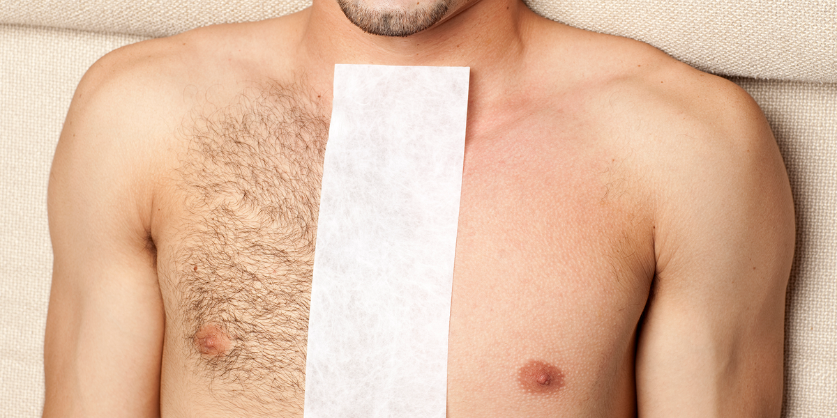 Body Waxing For Men 7 Steps For Easy Hair Removal