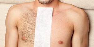 depilación corporal masculina