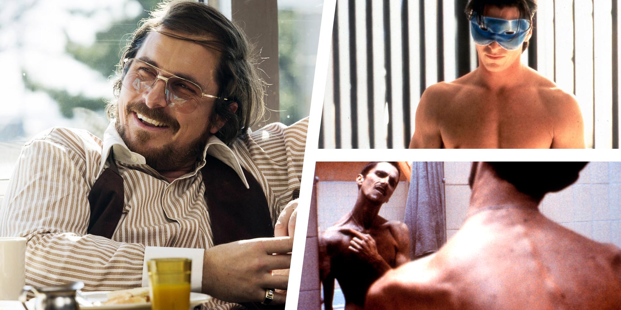 10 Times Christian Bale Dramatically Transformed His Body For A Role Before Em Ford V Ferrari Em