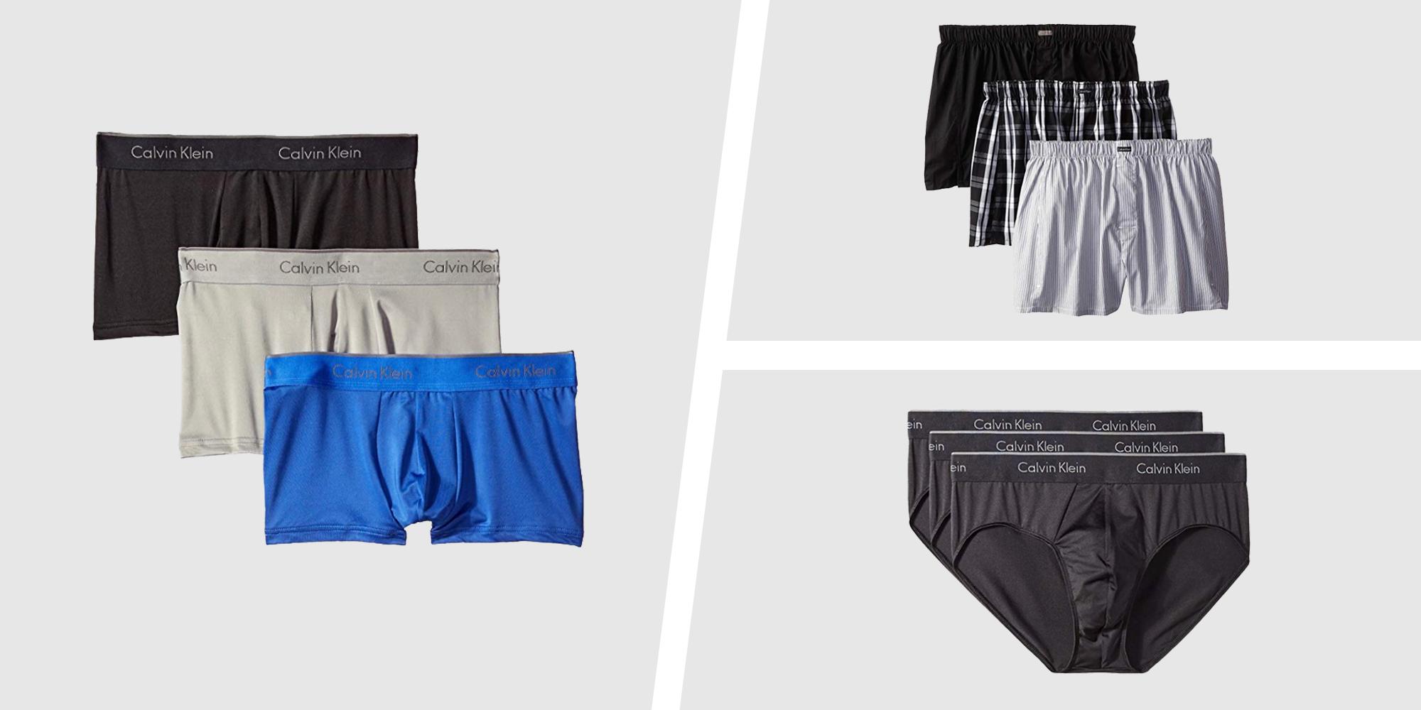 Amazon's Having a Secret Sale on Calvin Klein Men's Underwear Packs