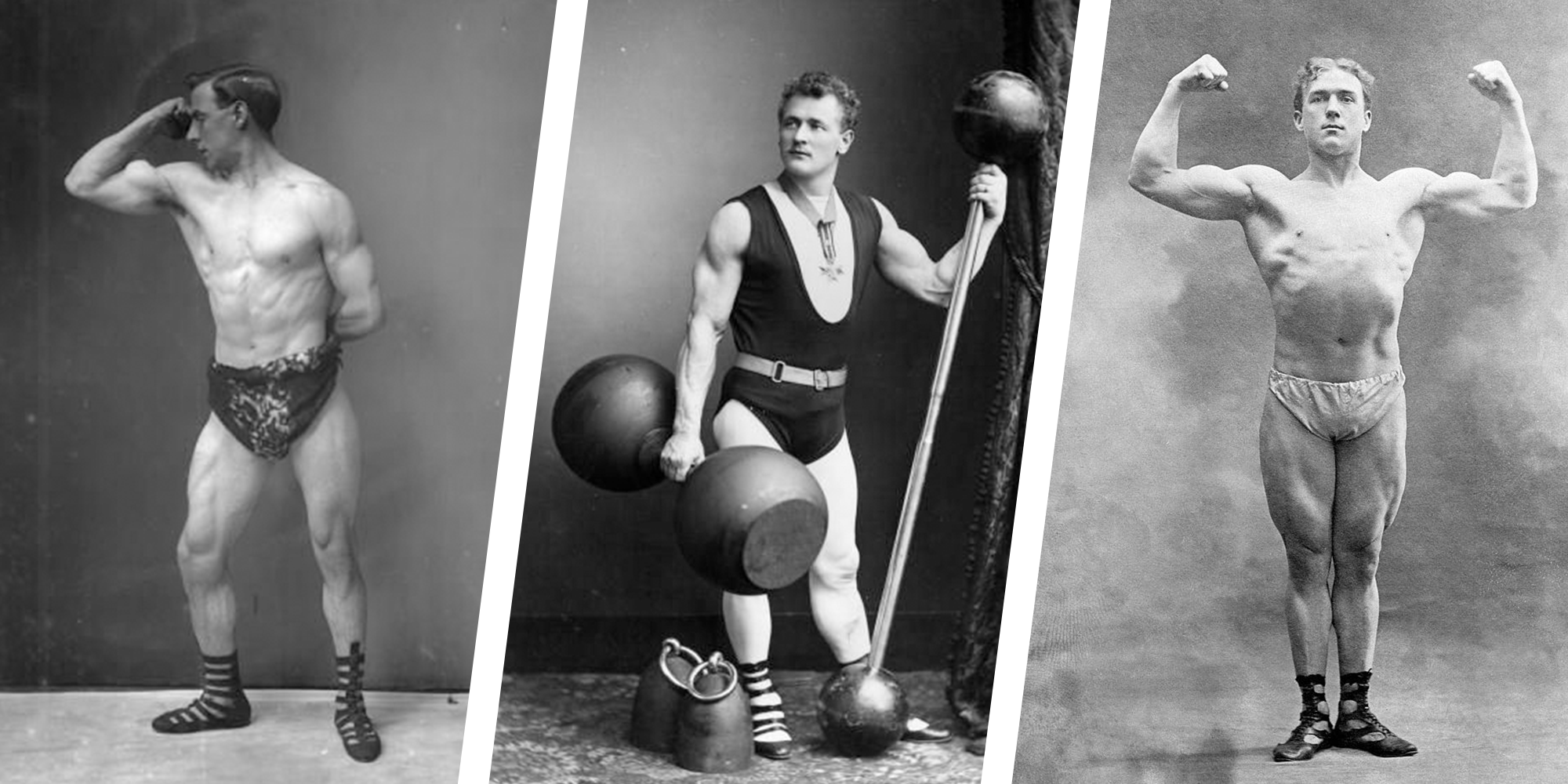 45 Vintage Bodybuilding Photos From the Early 1900s