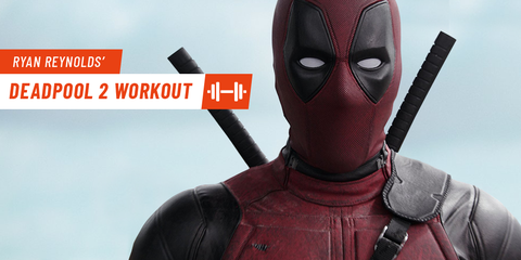 Get Ripped Like Ryan Reynolds with This 'Deadpool 2' Full-Body Workout