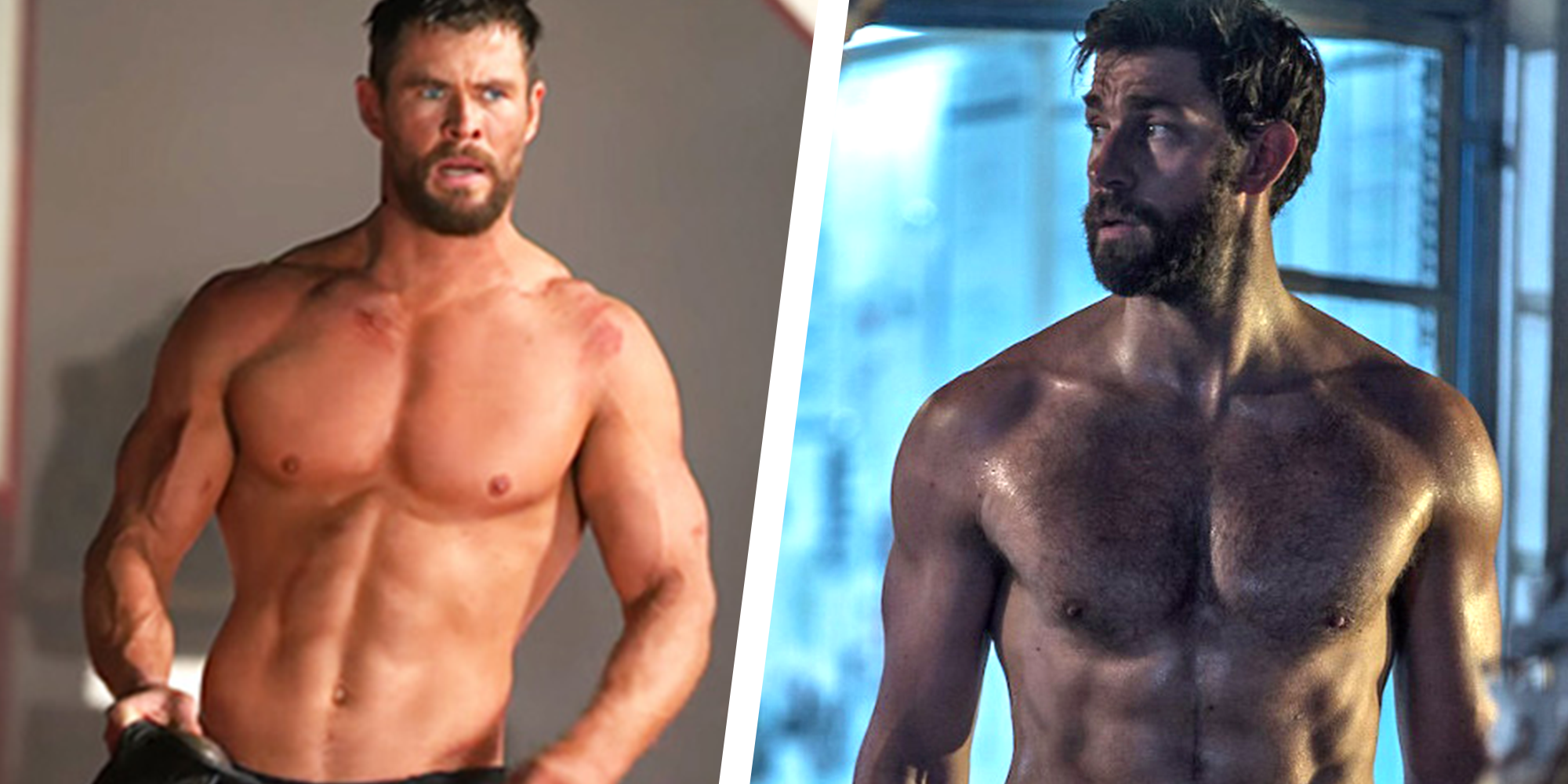 John Krasinski Says Chris Hemsworth Tanked His Captain America Audition