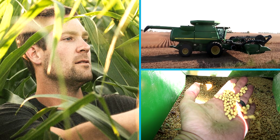 Zach Johnson Is YouTube's 'Millennial Farmer'—and His Viral Videos Are Peak Relaxation thumbnail