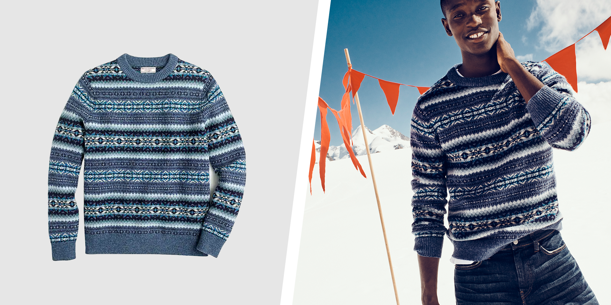 Six Pack of Style: 6 Holiday Sweaters That Don't Scream Ugly.