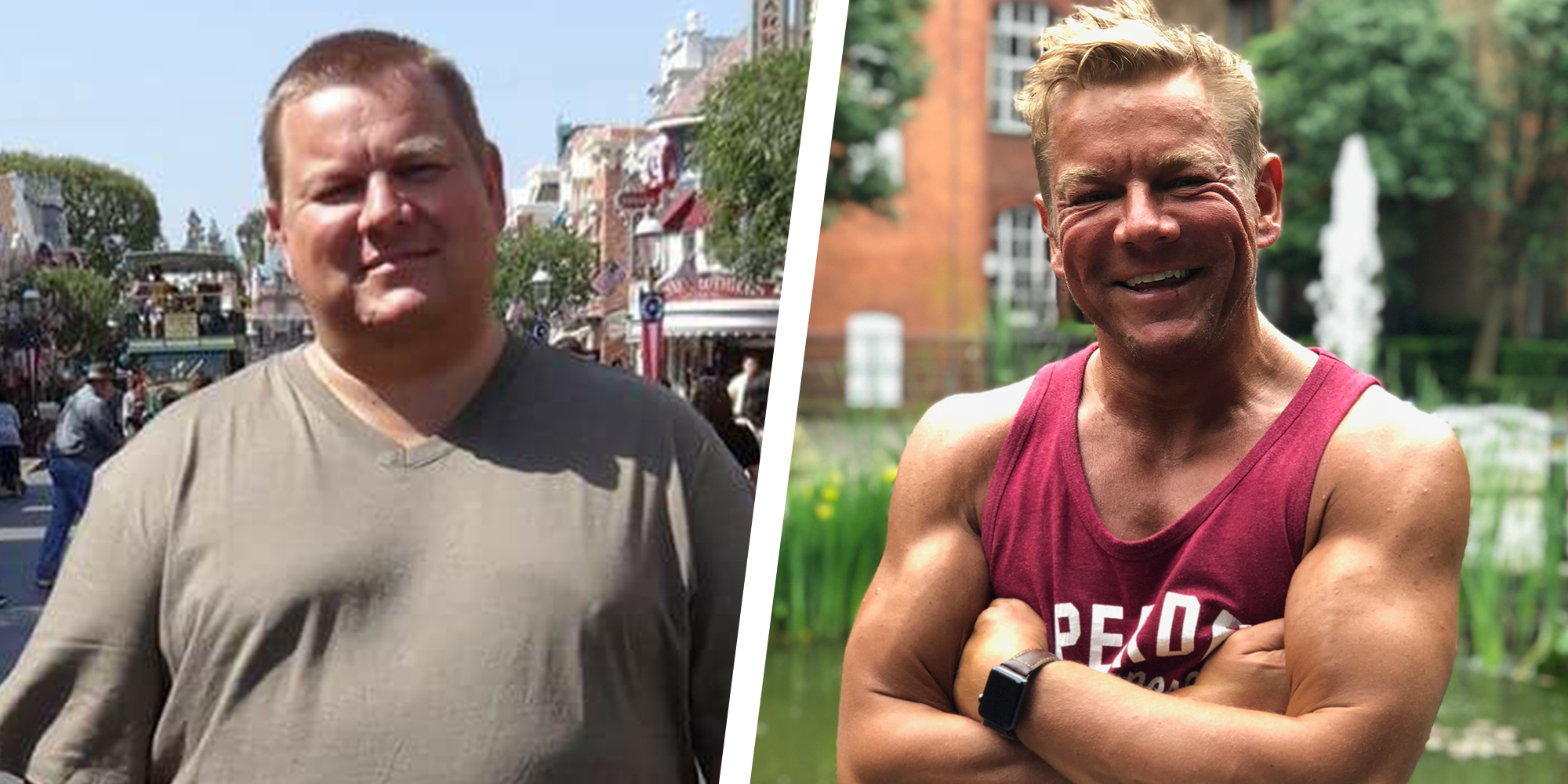 These Small Diet Changes Helped This Guy Lose More Than 100 Pounds