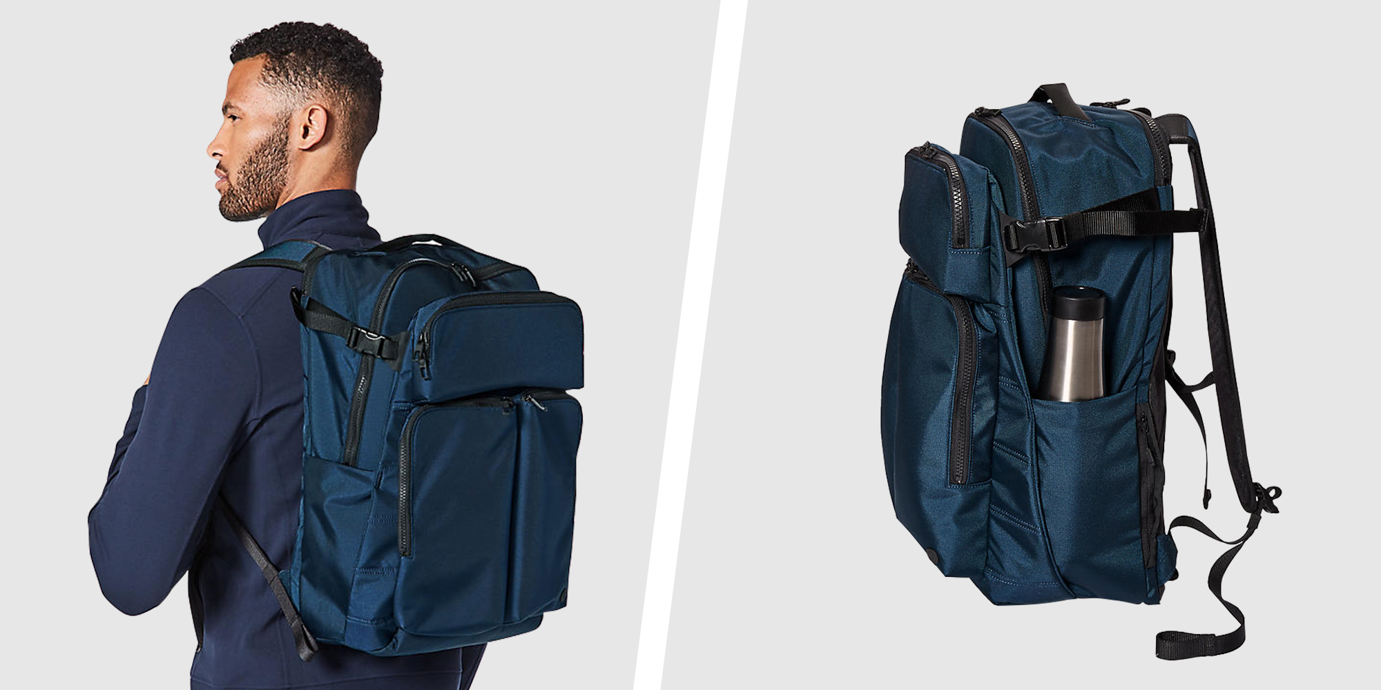 Gym bags with shoe compartments