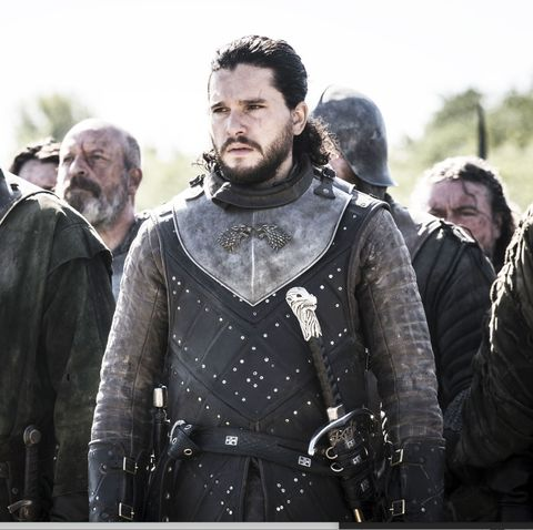 Game of Thrones season 8, episode 5: Ser Davos (Liam Cunningham) and Jon Snow (Kit Harington)