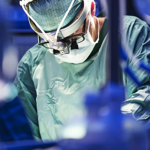 Man's Chest Caught on Fire During Surgery