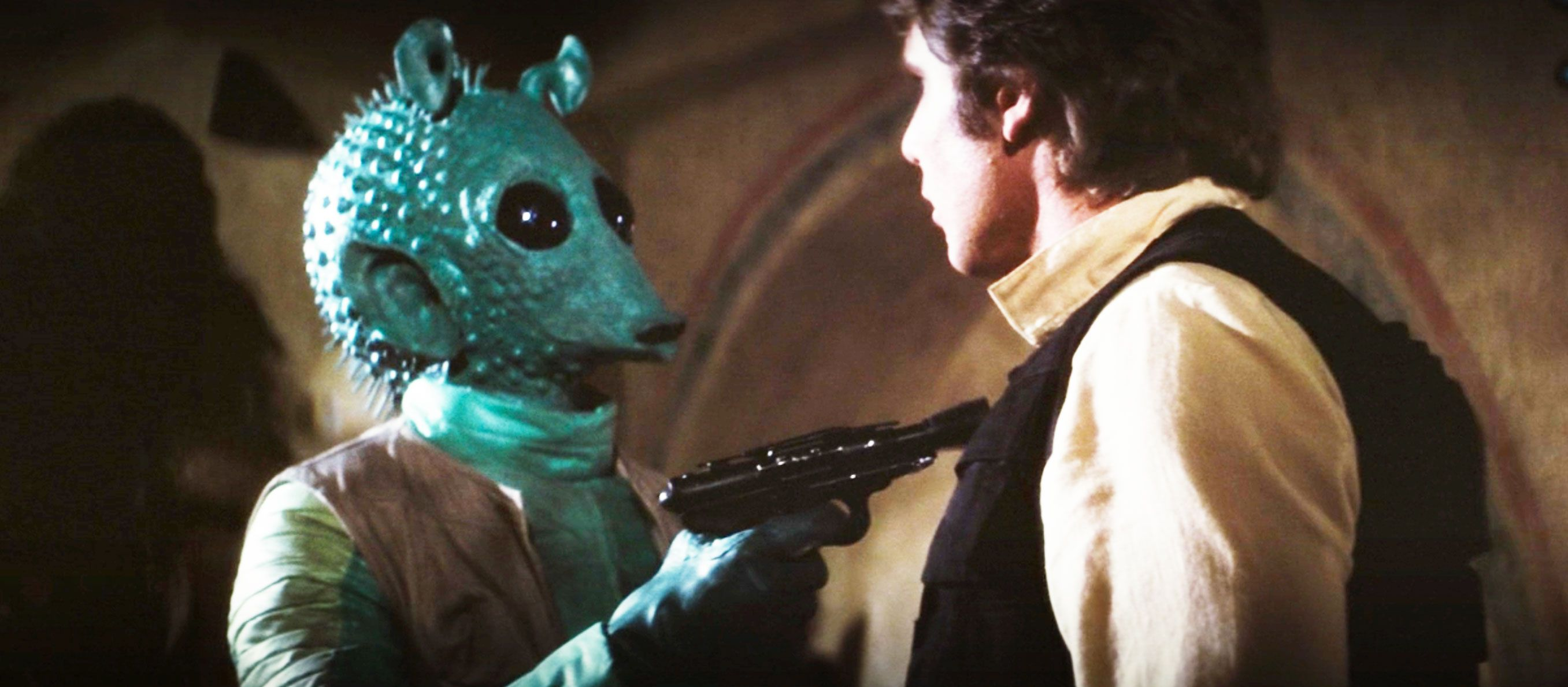 George Lucas Edited Star Wars to Have Greedo Say 'MACLUNKEY' Before Shooting at Han Solo