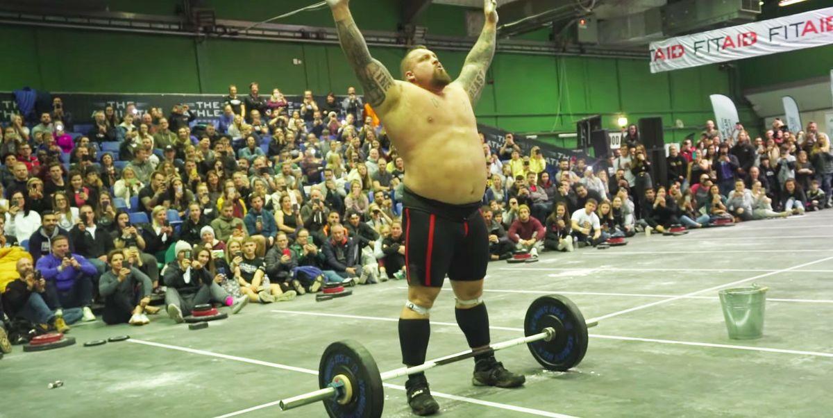 Eddie Hall Just Broke a CrossFit World Record