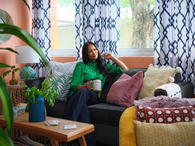 garcelle beauvais and homegoods make over a teacher's lounge