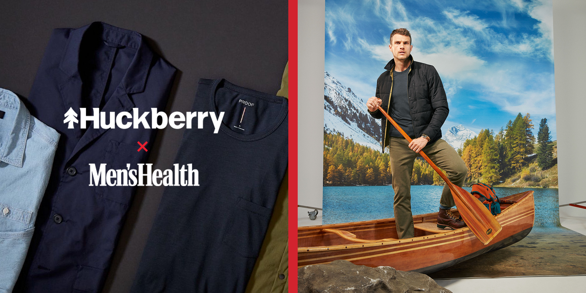 Upgrade Your Wardrobe This Fall With the Huckberry x Men's Health Collection