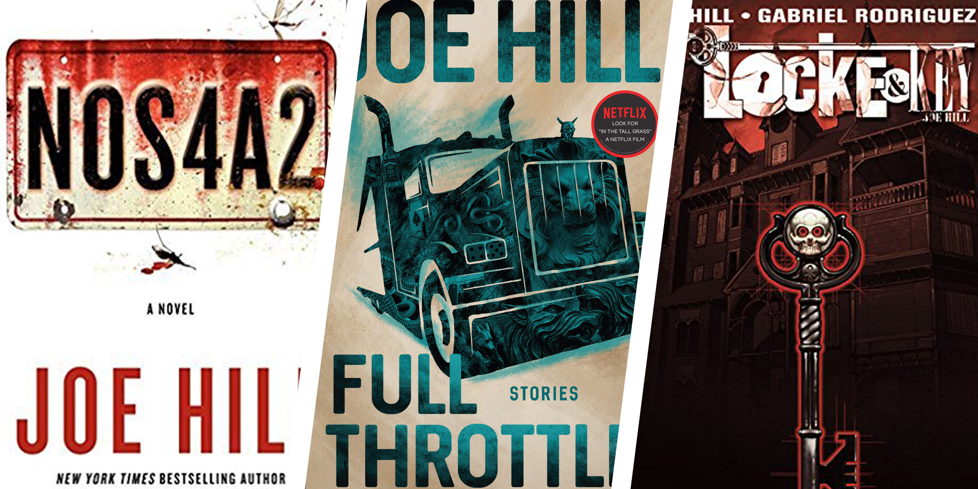 Read These Joe Hill Books and Comics If You Like Netflix's Locke and Key