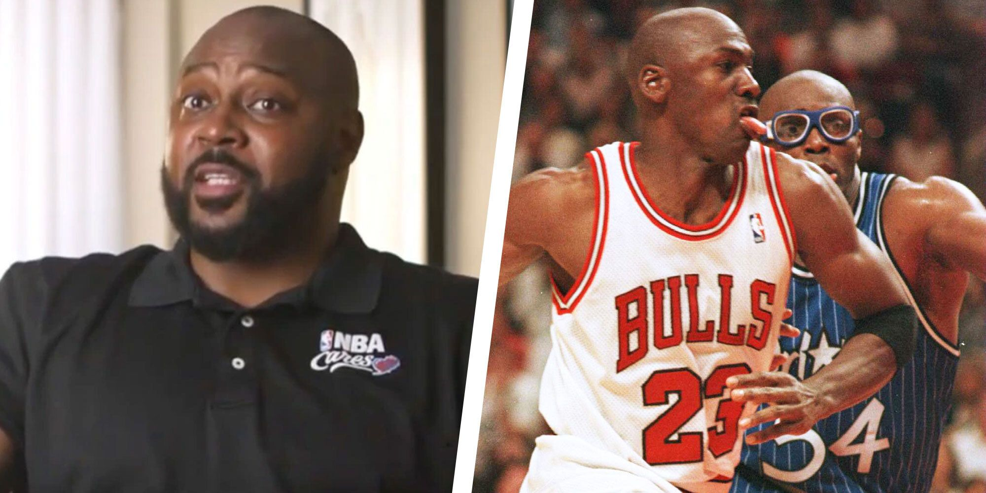 Why Horace Grant Is Angry at Michael
