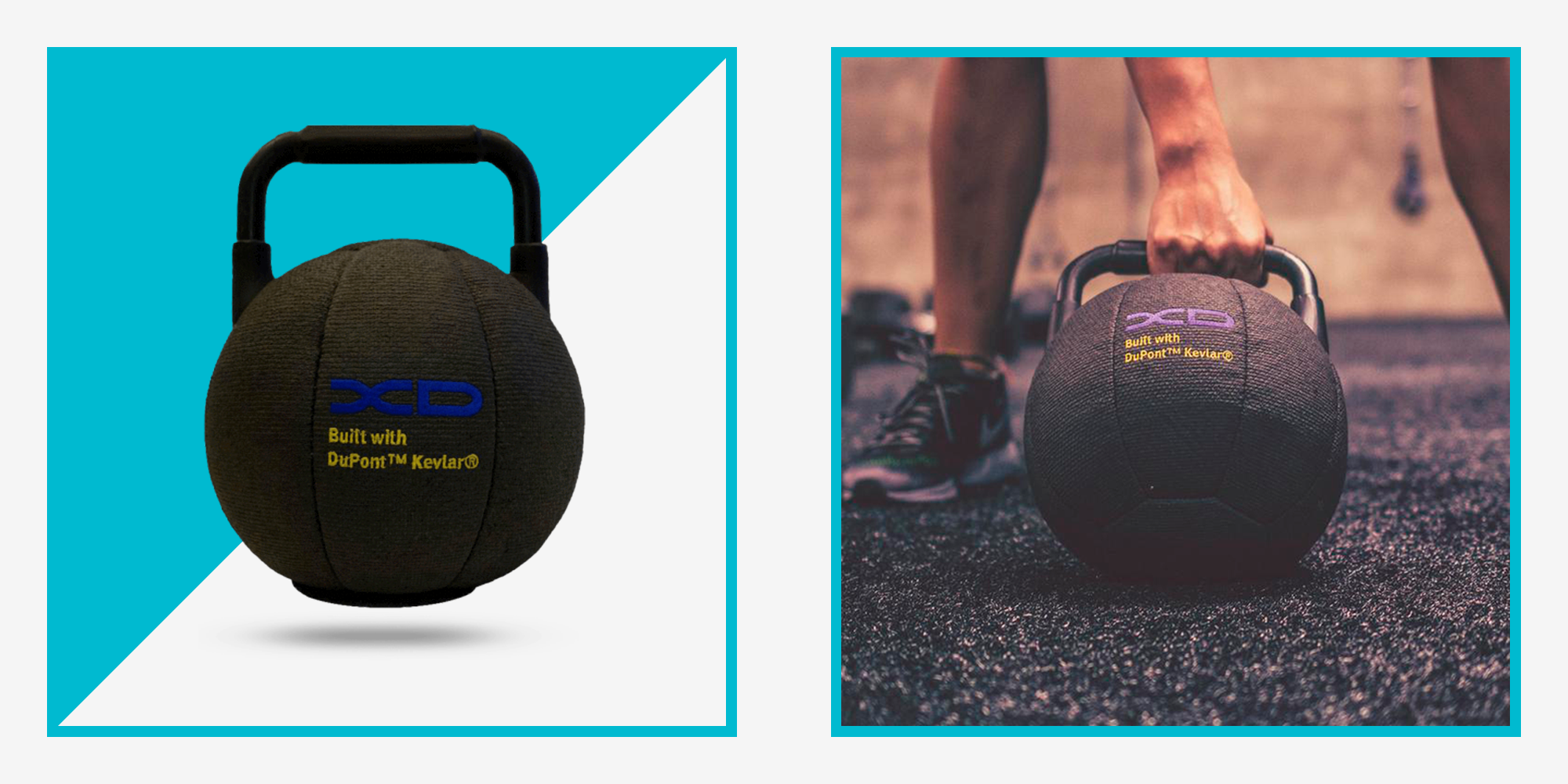 The XD Fit Kevlar Kettlebell Is Just What Your Home Gym Needs.