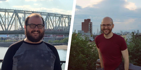 Here's How MensHealth.com's Louis Baragona Lost 100 Pounds in 2 Years