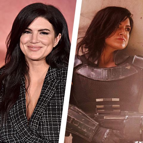 gina carano the mandalorian cara dune disney + star wars