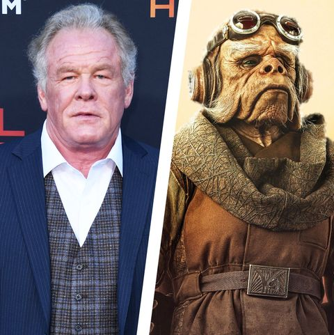 nick nolte the mandalorian star wars disney+ Kuiil