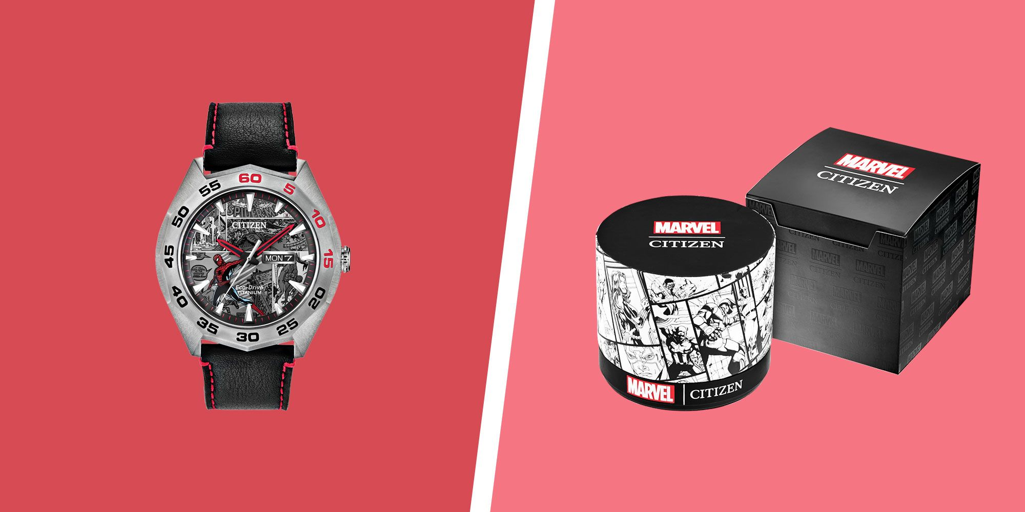 Get an Exclusive First Look at the New Marvel x Citizen Watches
