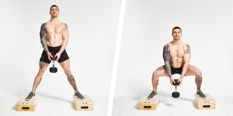Try This 4 Week Lower Body Dumbbell Workout Program To Burn Fat