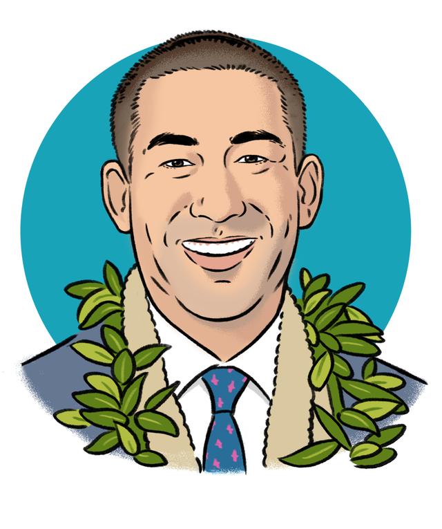 Meet Derek Kawakami, Kauai's Wave-Surfing, Jiujitsu-Fighting Mayor