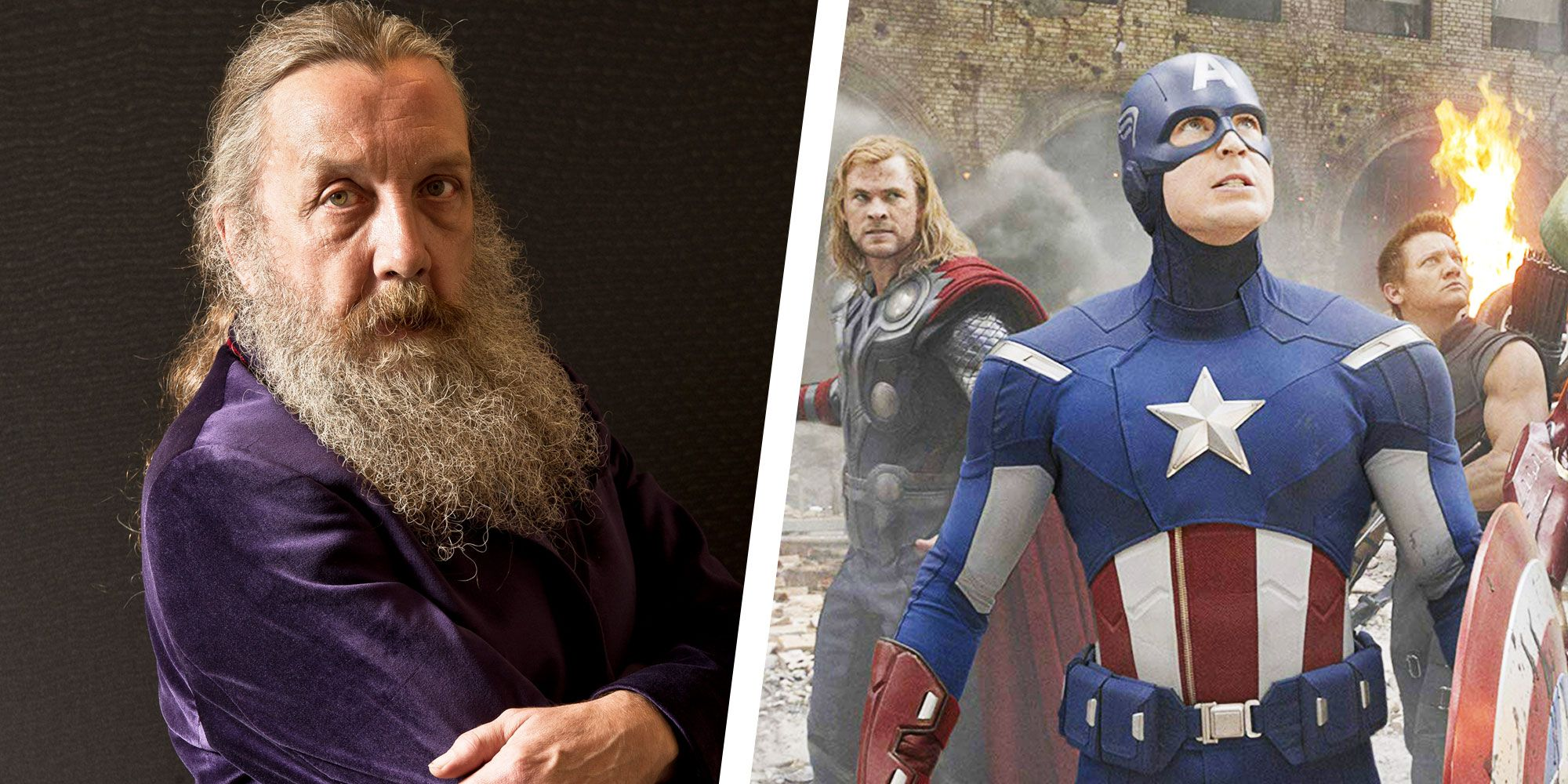 Watchmen Creator Alan Moore Thinks Today's Superheroes Are 'Embarrassing'