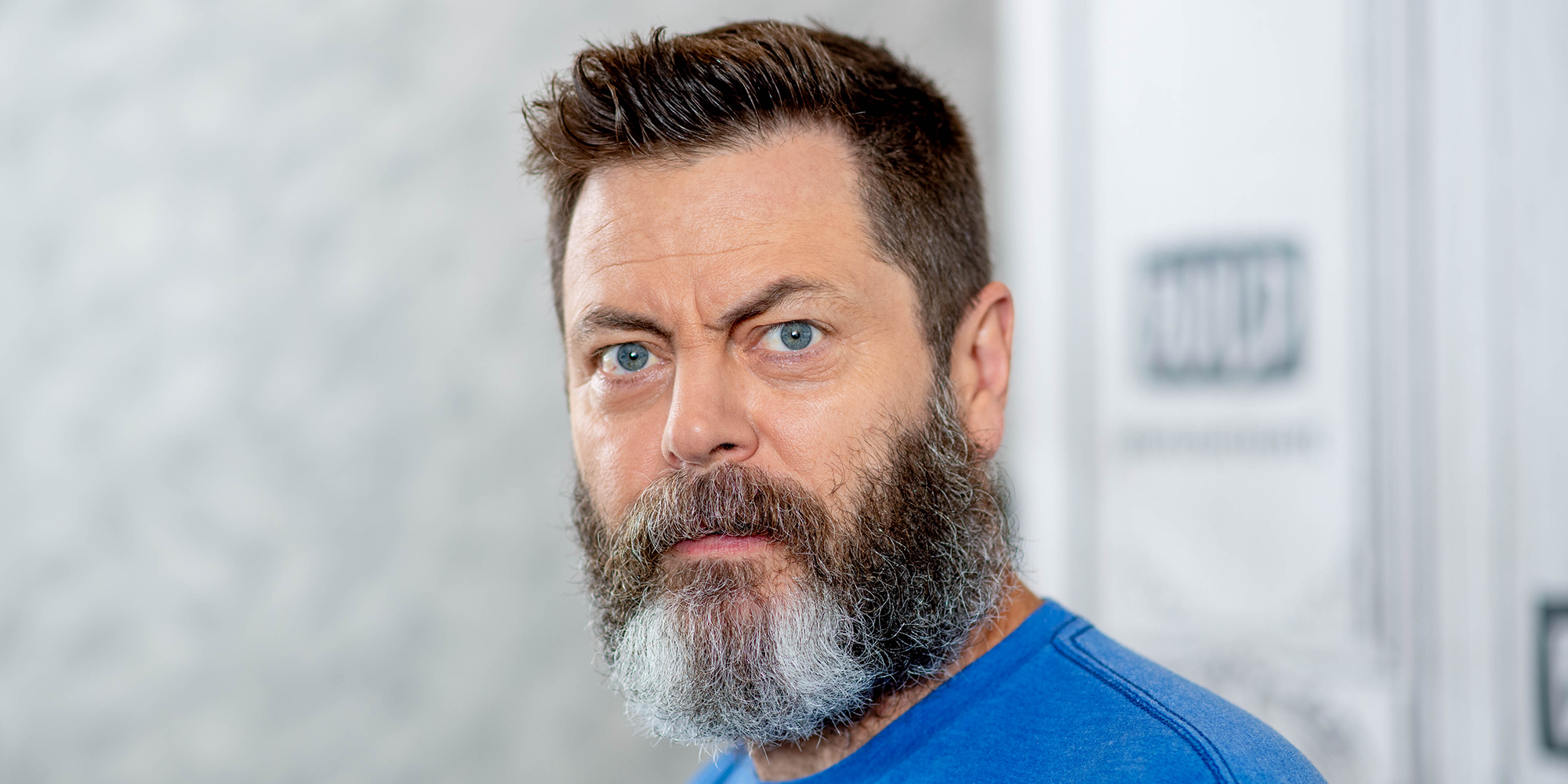 Nick Offerman on Getting Punched in the Face and New Definition of Manliness