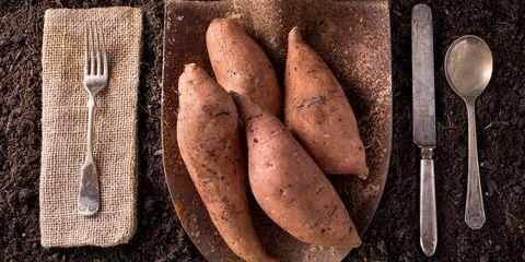 Sweet potato, Root vegetable, Yacón, Vegetable, Food, Yam, Russet burbank potato, Tuber, Potato, Cuisine,