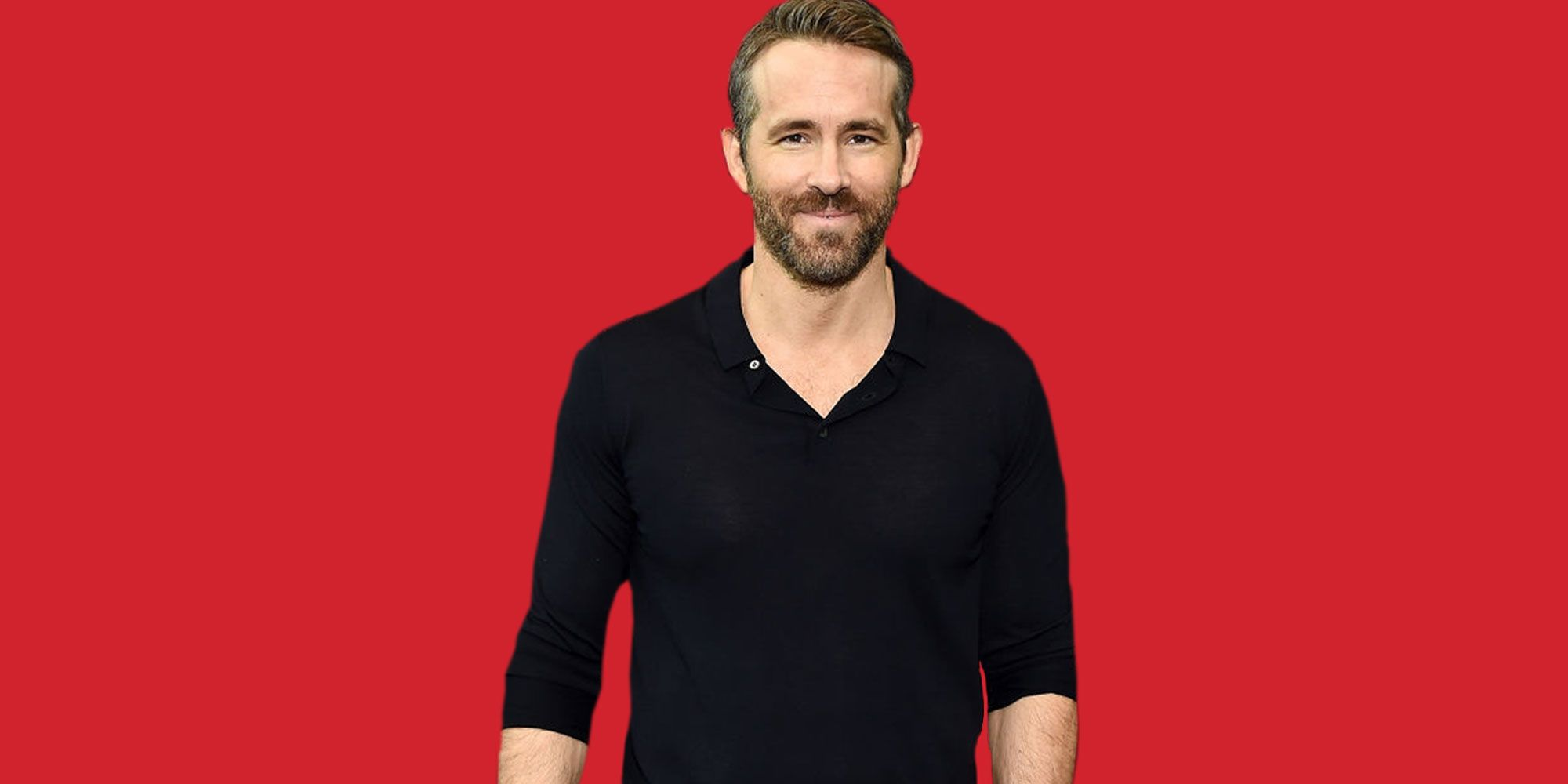 Get Ryan Reynolds' Affordable Long-Sleeve Polo Shirt to Sport Everywhere This Fall
