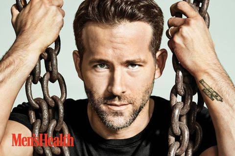 ryan reynolds men's health photoshoot