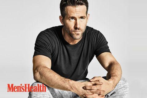 ryan reynolds men's health photoshoot
