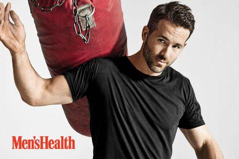 ryan reynolds mens health photoshoot