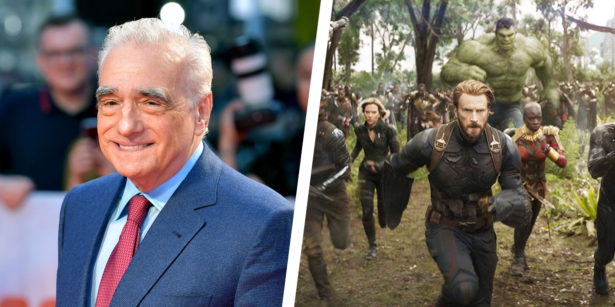 Martin Scorsese Just Said Marvel Movies Are 'Not Cinema'