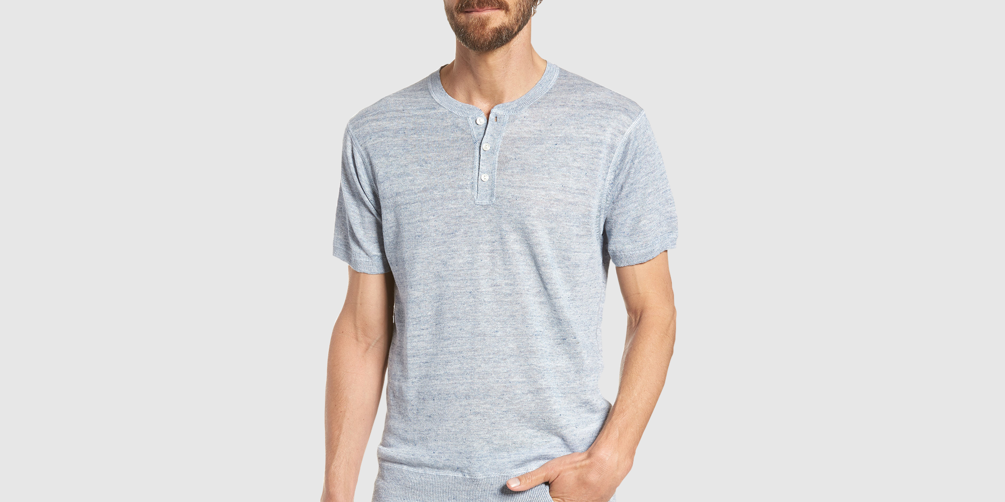 The 11 Best Henley Shirts for Men to Wear This Fall