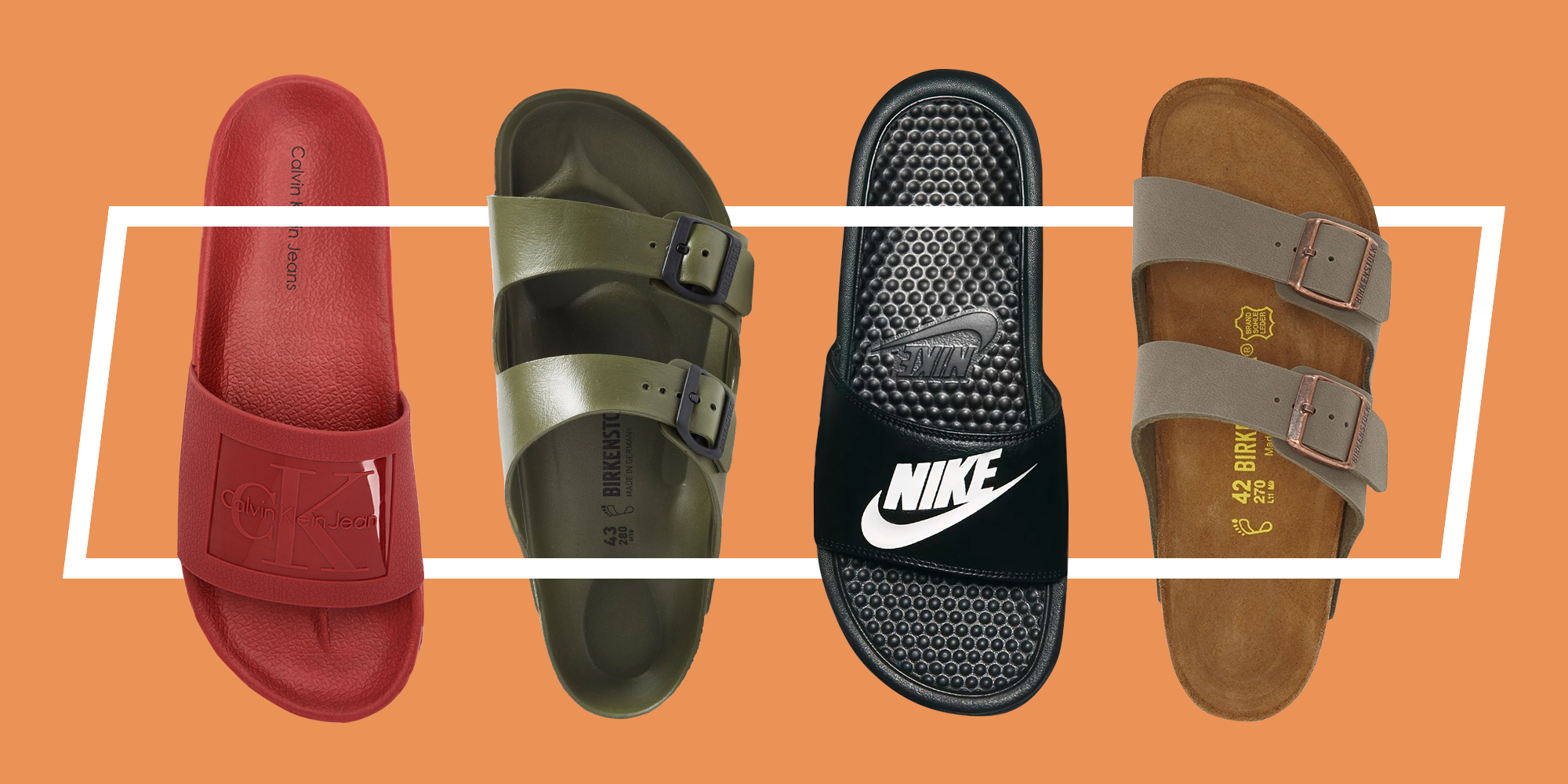 The 5 Best Sandals For Men to Wear This Summer