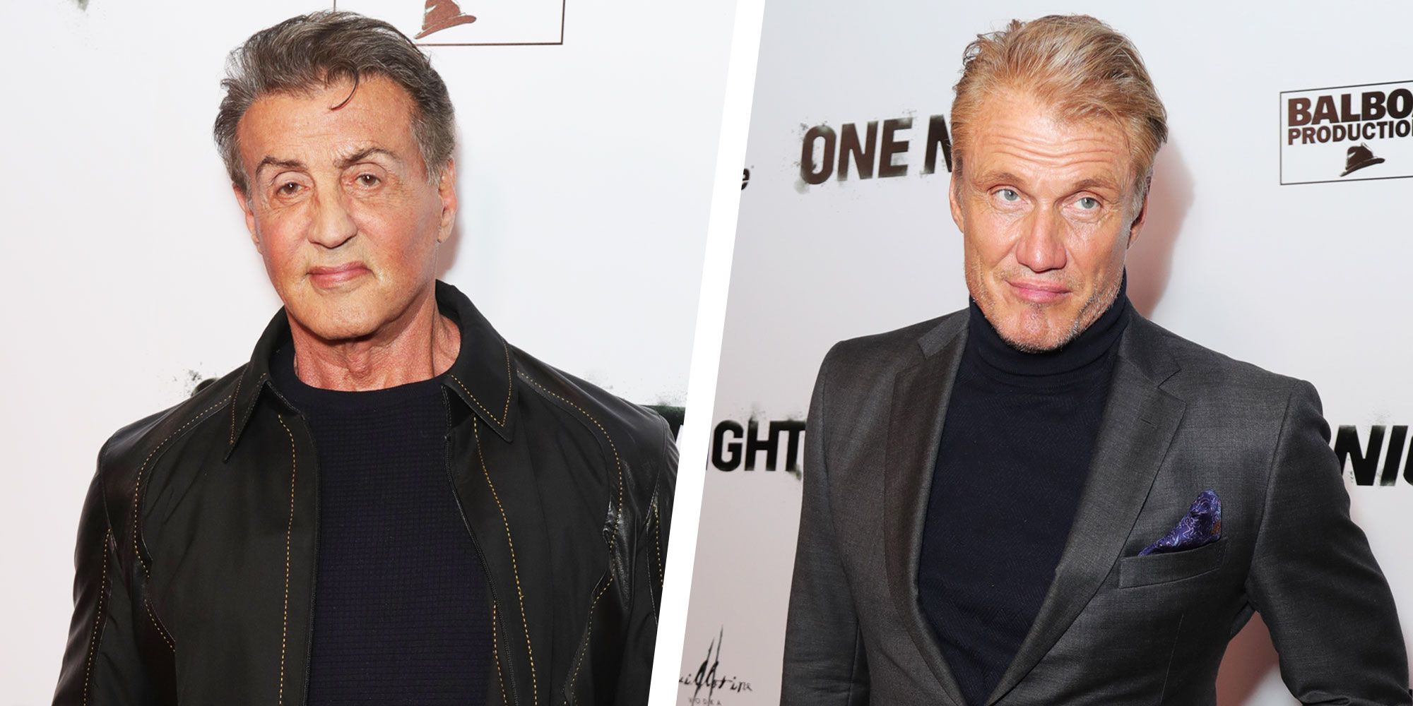 Sylvester Stallone and Dolph Lundgren Had a Rocky Reunion at Boxing Documentary Premiere