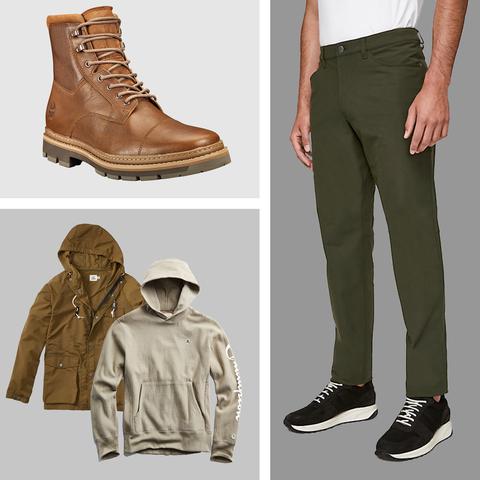 Clothing, Khaki, Footwear, Shoe, Brown, Jeans, Fashion, Trousers, Beige, Outerwear,