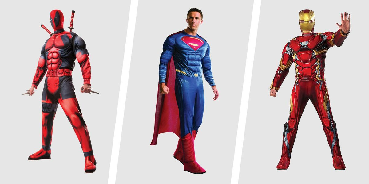 25 Best Adult Superhero Halloween Costumes For Men 2021 If any of you plan on doing this project, be sure to get stretchy red fabric for the shirt. 25 badass superhero halloween costumes
